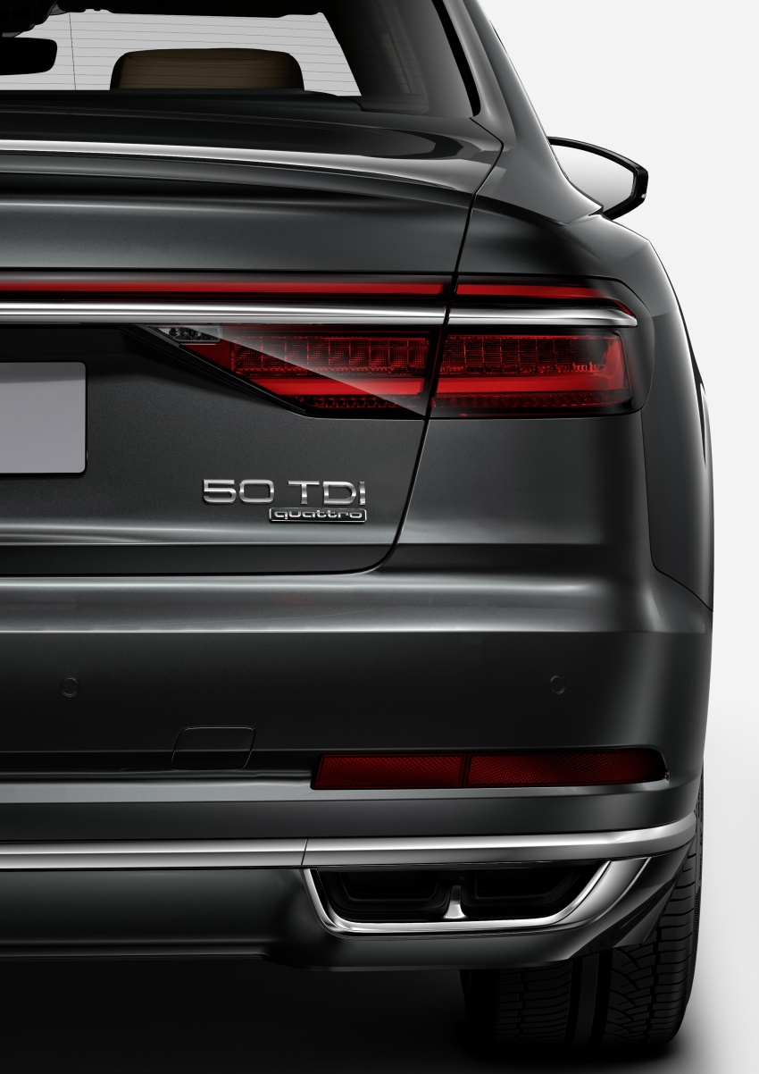 Audi introduces new nomenclature for power output designations of all models, starting with the new A8 Image #703057