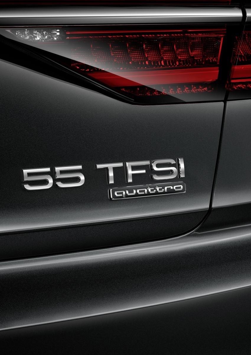 Audi introduces new nomenclature for power output designations of all models, starting with the new A8 Image #703058