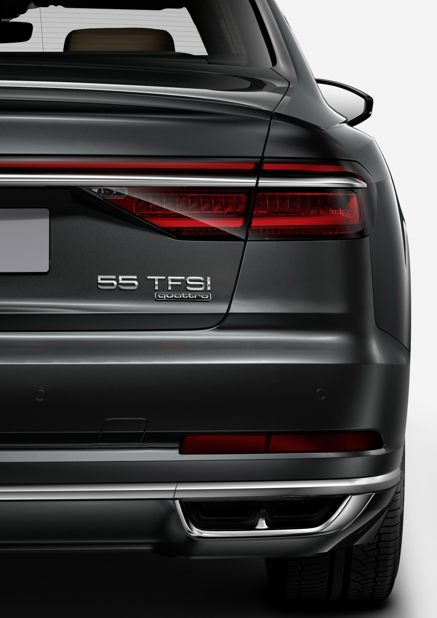 Audi introduces new nomenclature for power output designations of all models, starting with the new A8 Image #703059