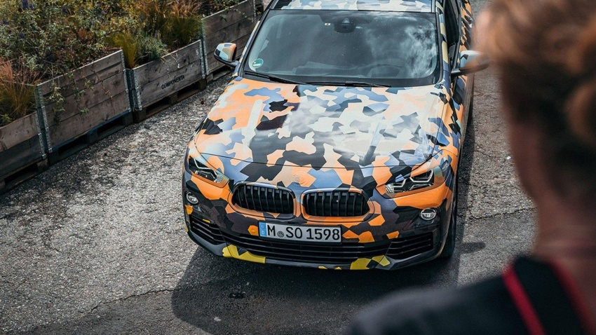 BMW X2 officially previewed in new set of photos Image #696782