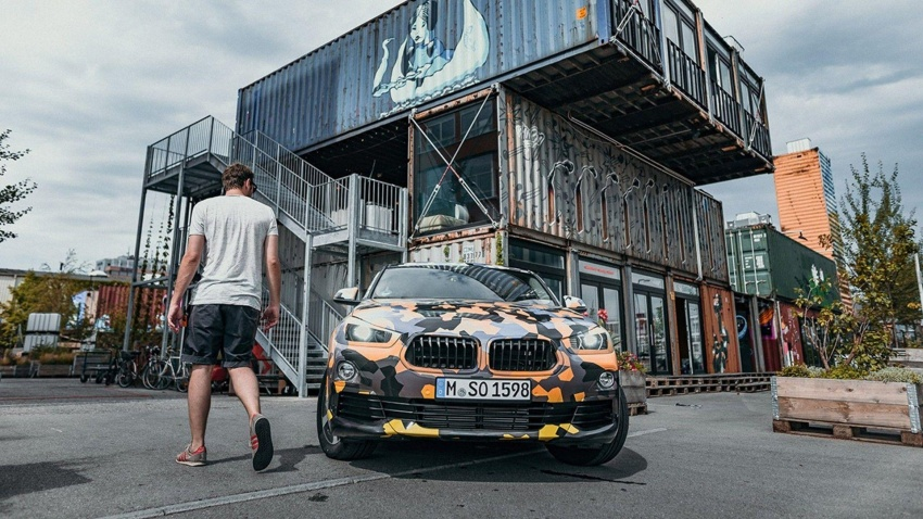 BMW X2 officially previewed in new set of photos Image #696785