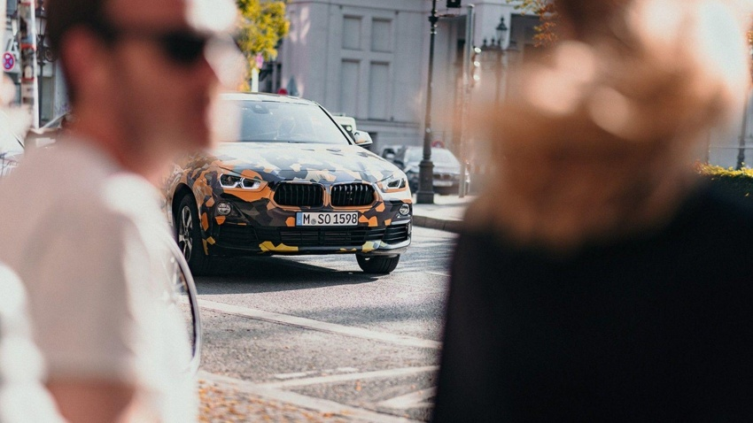 BMW X2 officially previewed in new set of photos Image #696773