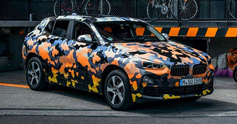 BMW X2 officially previewed in new set of photos Image #696776