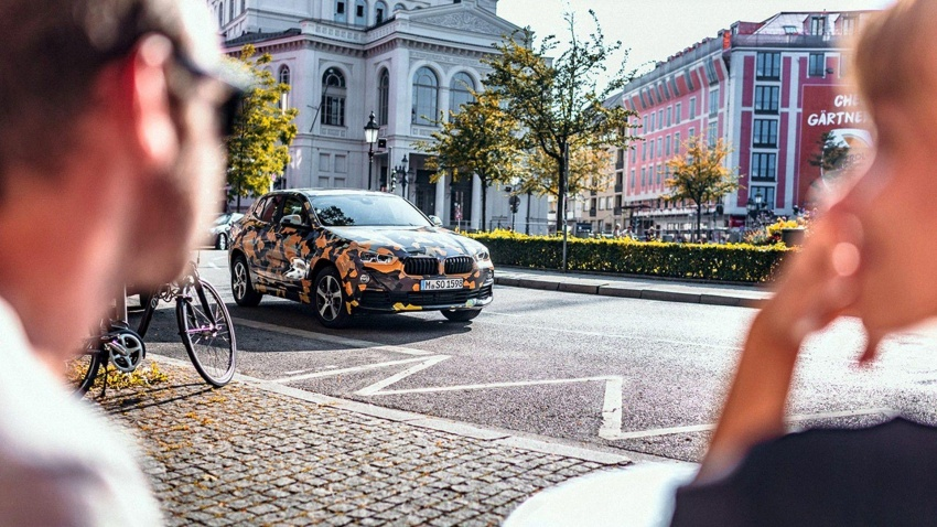 BMW X2 officially previewed in new set of photos Image #696777