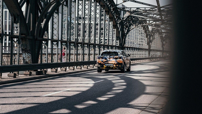 BMW X2 officially previewed in new set of photos Image #696780