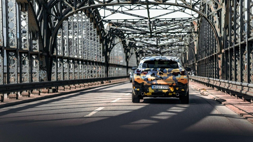 BMW X2 officially previewed in new set of photos Image #696781