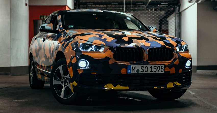 BMW X2 officially previewed in new set of photos Image #699920