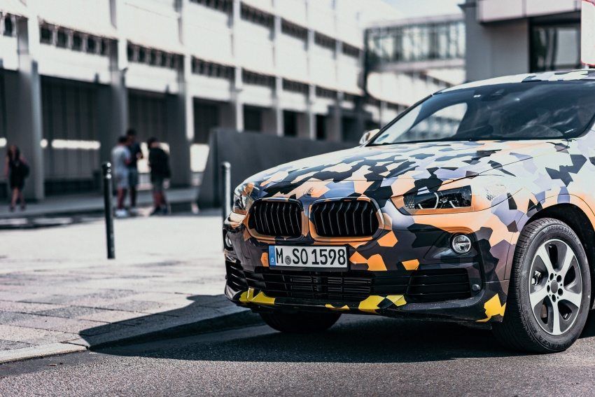 BMW X2 officially previewed in new set of photos Image #699922