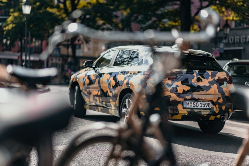 BMW X2 officially previewed in new set of photos Image #699923
