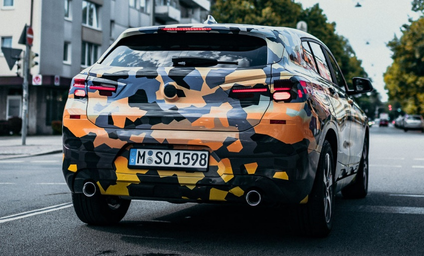 BMW X2 officially previewed in new set of photos Image #699924