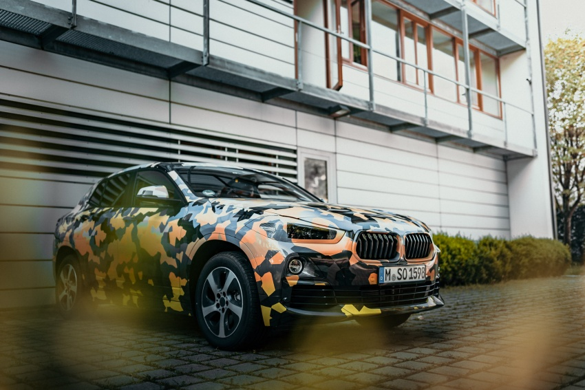 BMW X2 officially previewed in new set of photos Image #699912