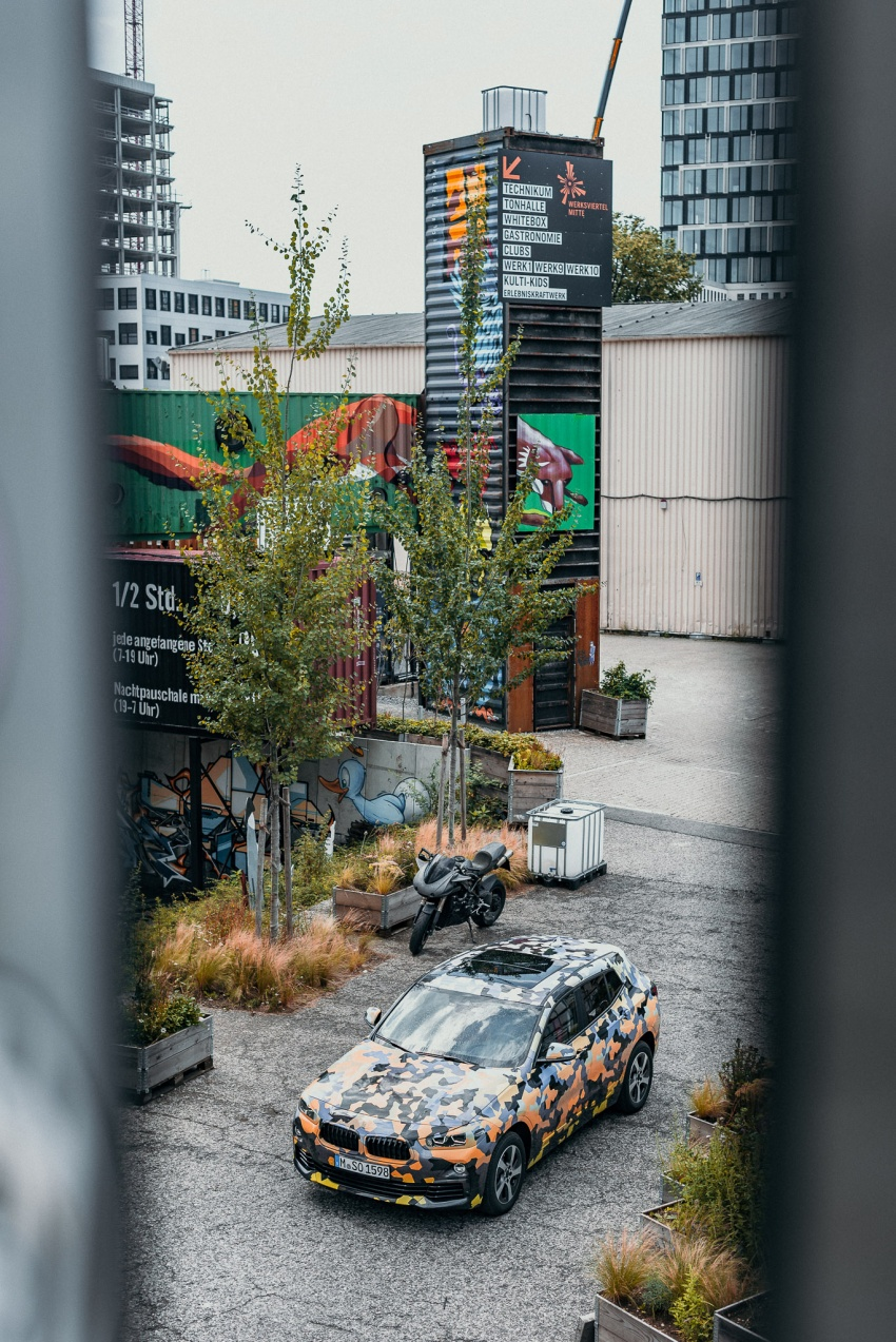 BMW X2 officially previewed in new set of photos Image #699913