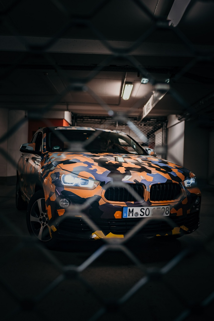 BMW X2 officially previewed in new set of photos Image #699914