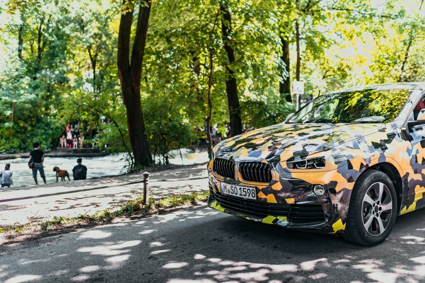 BMW X2 officially previewed in new set of photos Image #699918