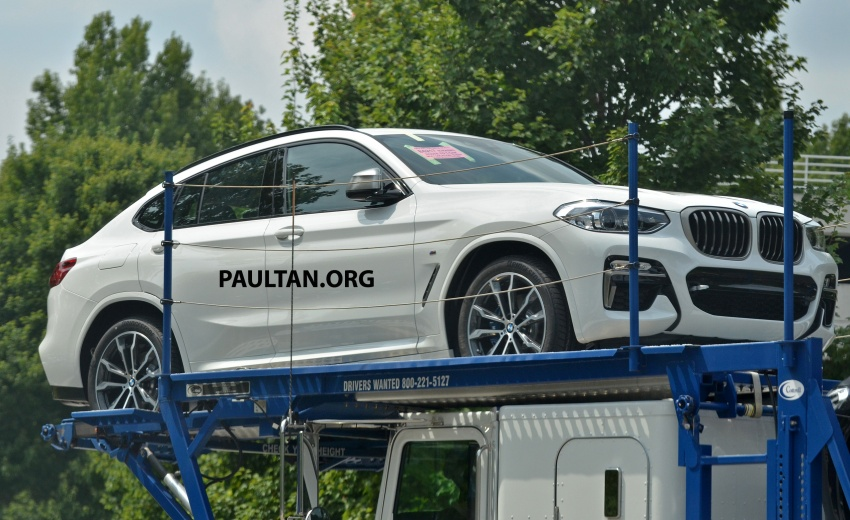 SPYSHOTS: Production 2018 BMW X4 with no camo Image #704151