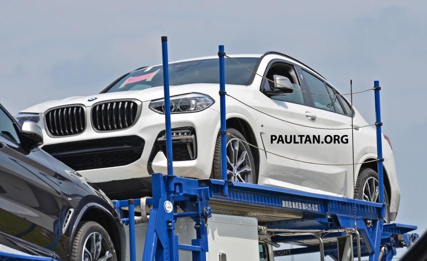 SPYSHOTS: Production 2018 BMW X4 with no camo Image #704152