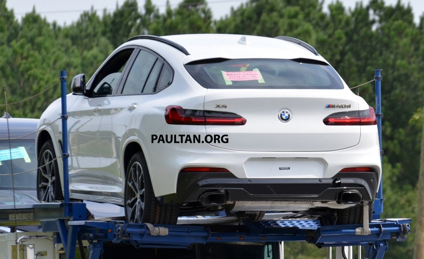 SPYSHOTS: Production 2018 BMW X4 with no camo Image #704154
