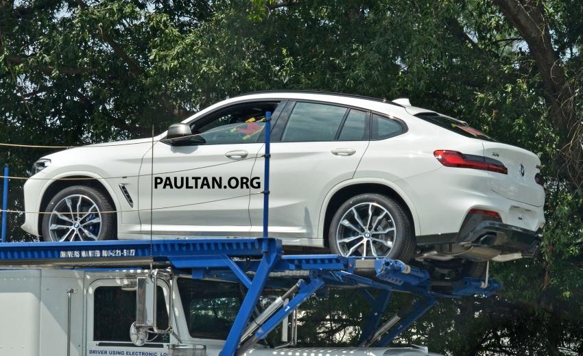 SPYSHOTS: Production 2018 BMW X4 with no camo Image #704157