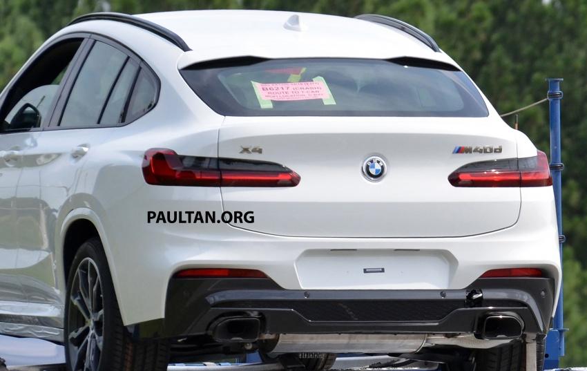 SPYSHOTS: Production 2018 BMW X4 with no camo Image #704161