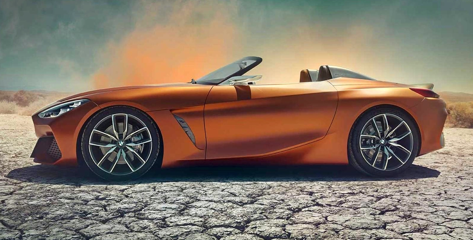 Bmw Z4 Concept Images Leaked Ahead Of Premiere