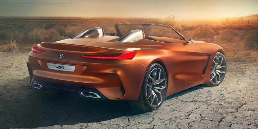 BMW Z4 Concept – images leaked ahead of premiere Image #700323