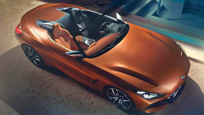 BMW Z4 Concept – images leaked ahead of premiere Image #700324