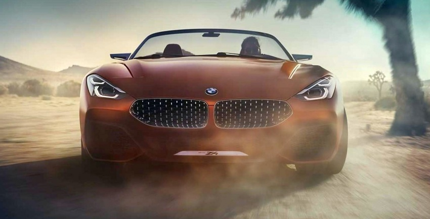 BMW Z4 Concept – images leaked ahead of premiere Image #700326