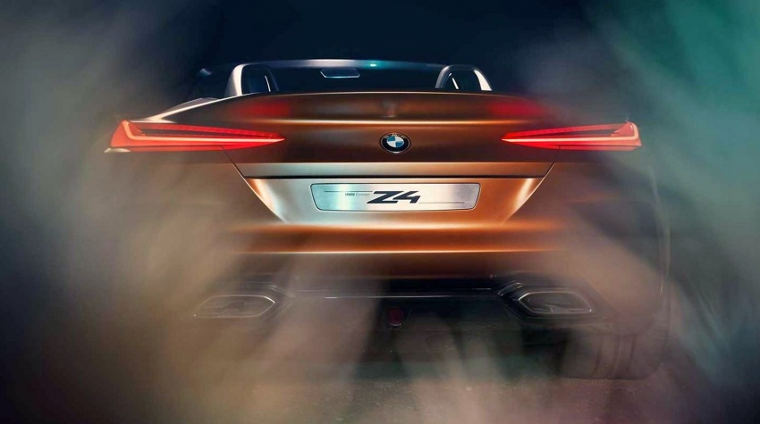 BMW Z4 Concept – images leaked ahead of premiere Image #700327