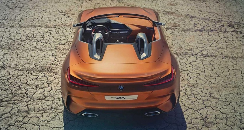 BMW Z4 Concept – images leaked ahead of premiere Image #700328
