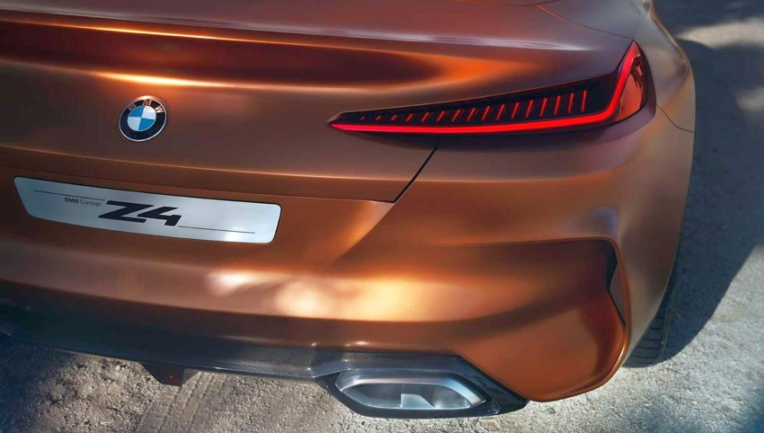 BMW Z4 Concept – images leaked ahead of premiere Image #700315