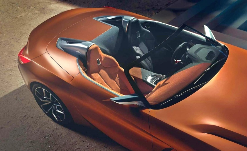 BMW Z4 Concept – images leaked ahead of premiere Image #700316