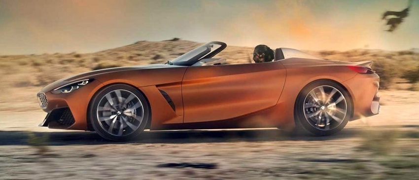 BMW Z4 Concept – images leaked ahead of premiere Image #700317