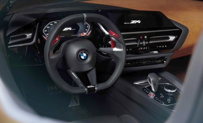 BMW Z4 Concept – images leaked ahead of premiere Image #700320