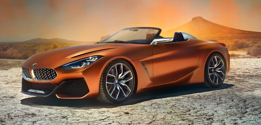 BMW Z4 Concept debuts – production roadster in 2018 Image #700506