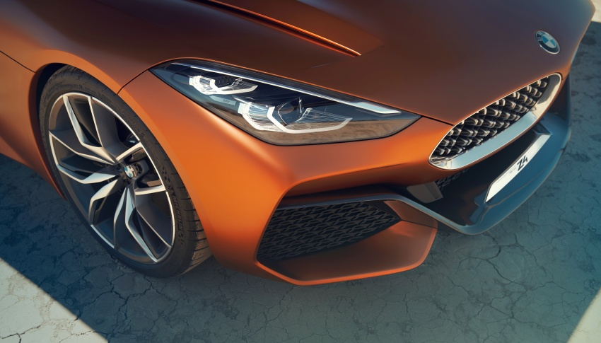 BMW Z4 Concept debuts – production roadster in 2018 Image #700516