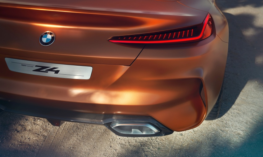 BMW Z4 Concept debuts – production roadster in 2018 Image #700517