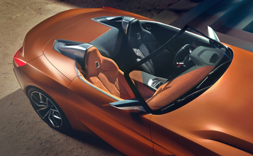 BMW Z4 Concept debuts – production roadster in 2018 Image #700518