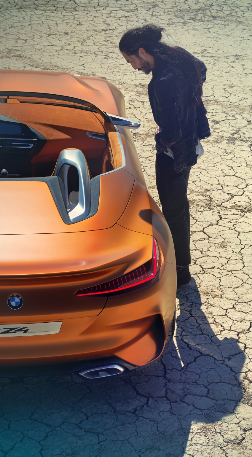 BMW Z4 Concept debuts – production roadster in 2018 Image #700519