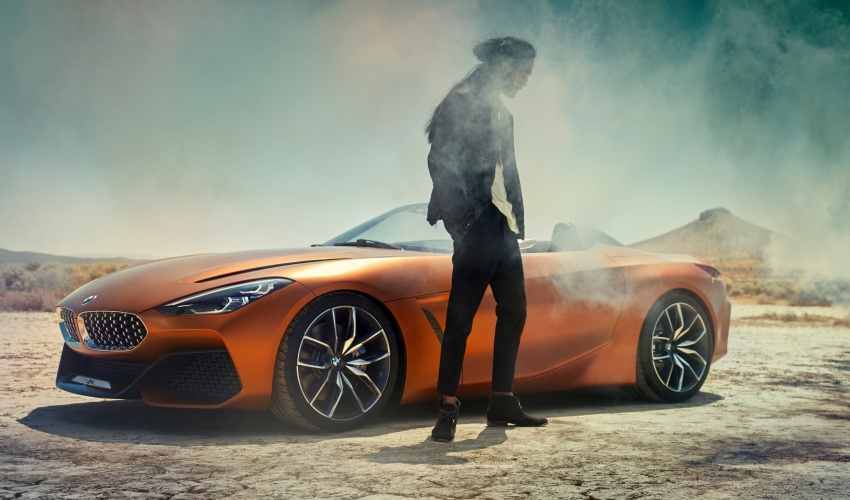 BMW Z4 Concept debuts – production roadster in 2018 Image #700520