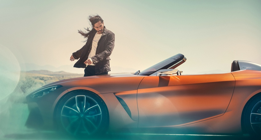 BMW Z4 Concept debuts – production roadster in 2018 Image #700521