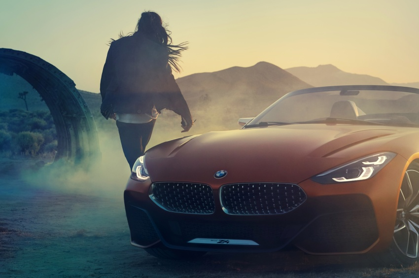BMW Z4 Concept debuts – production roadster in 2018 Image #700524