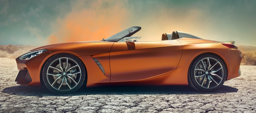 BMW Z4 Concept debuts – production roadster in 2018 Image #700507