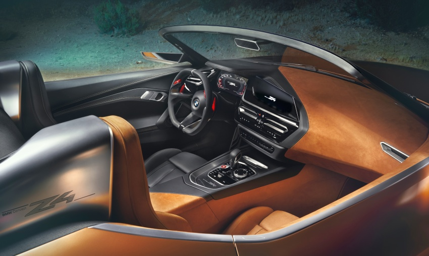 BMW Z4 Concept debuts – production roadster in 2018 Image #700528