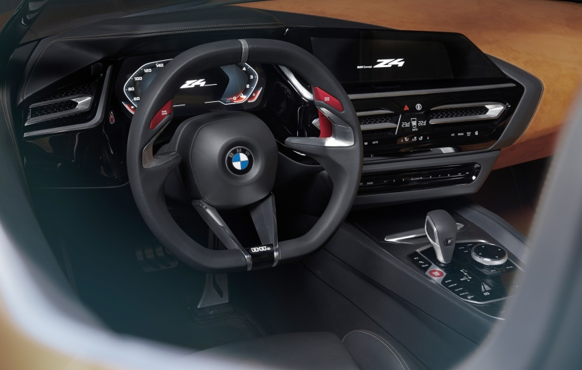 BMW Z4 Concept debuts – production roadster in 2018 Image #700529