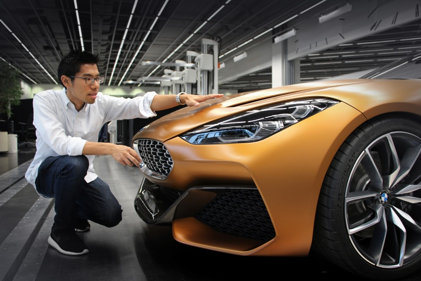 BMW Z4 Concept debuts – production roadster in 2018 Image #700534