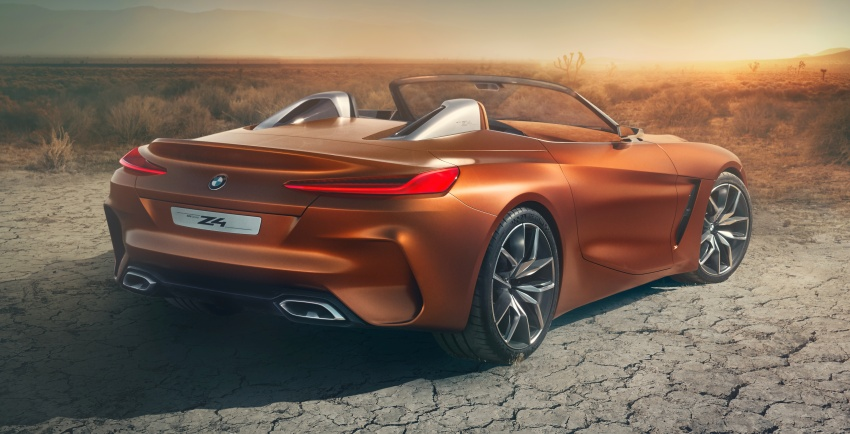 BMW Z4 Concept debuts – production roadster in 2018 Image #700509