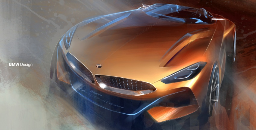BMW Z4 Concept debuts – production roadster in 2018 Image #700489