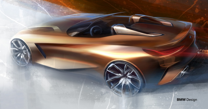 BMW Z4 Concept debuts – production roadster in 2018 Image #700493