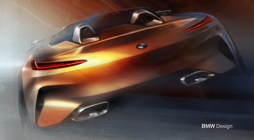 BMW Z4 Concept debuts – production roadster in 2018 Image #700496