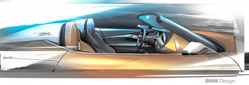 BMW Z4 Concept debuts – production roadster in 2018 Image #700547